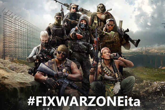 Warzone #FIXWARZONEita
