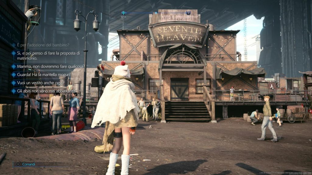 Final Fantasy VII Remake: Episode INTERmission Seventh Heaven