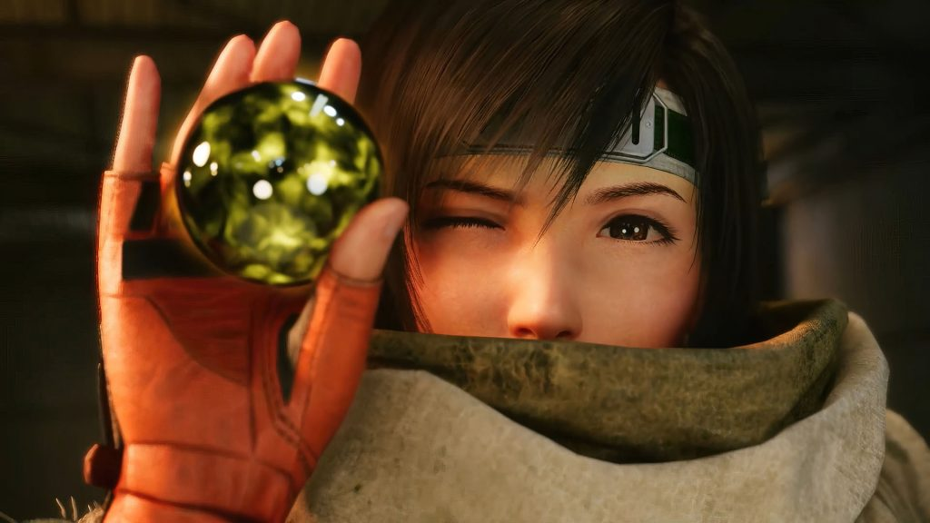 Final Fantasy VII Remake: Episode INTERmission Yuffie Materia Gialla