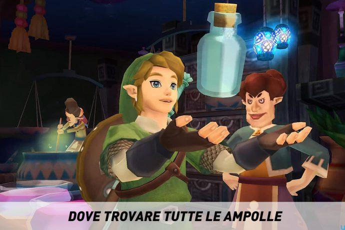 The Legend of Zelda Skyward Sword Ampolle