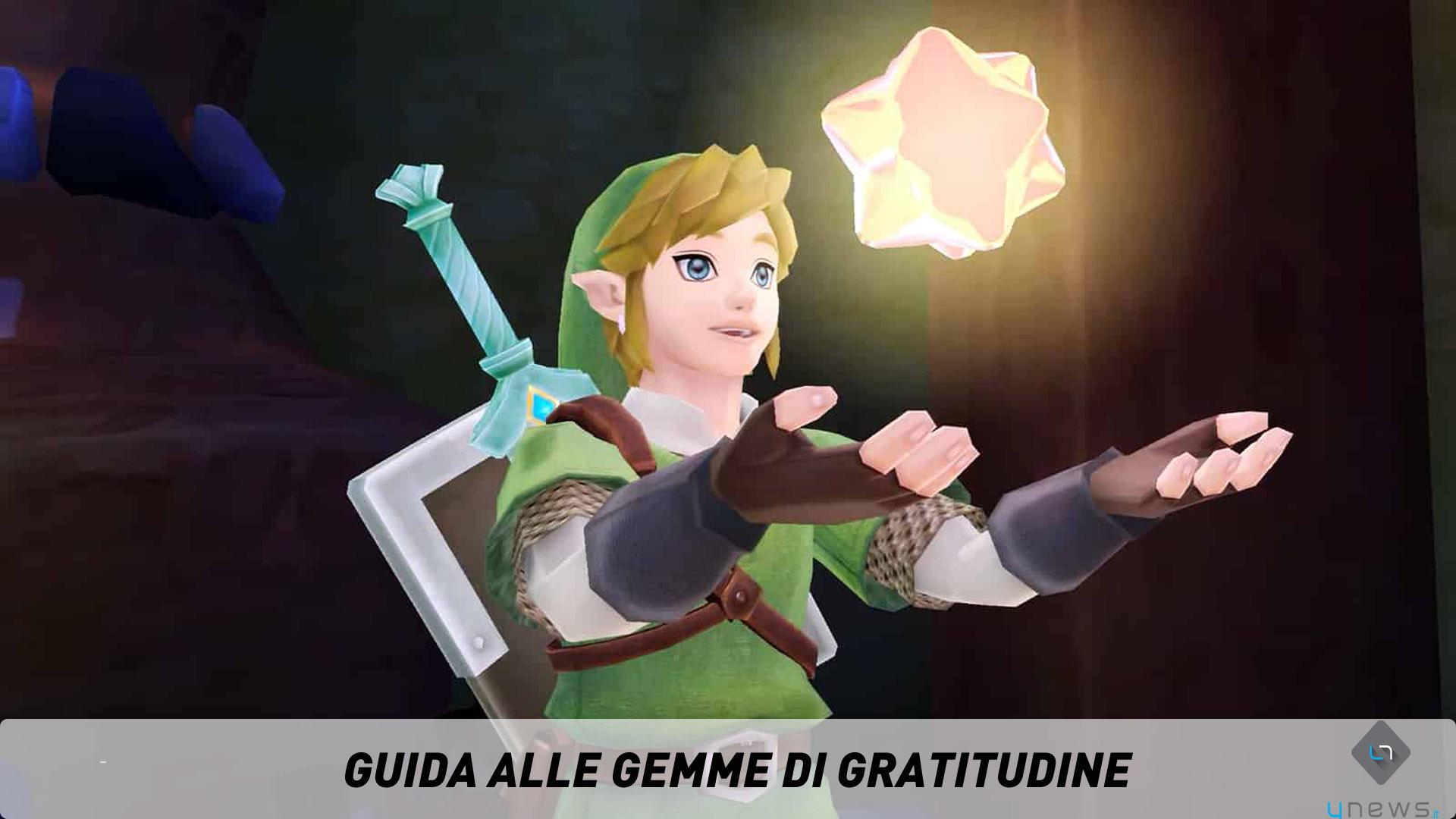 The Legend of Zelda Skyward Sword Gemme di Gratitudine