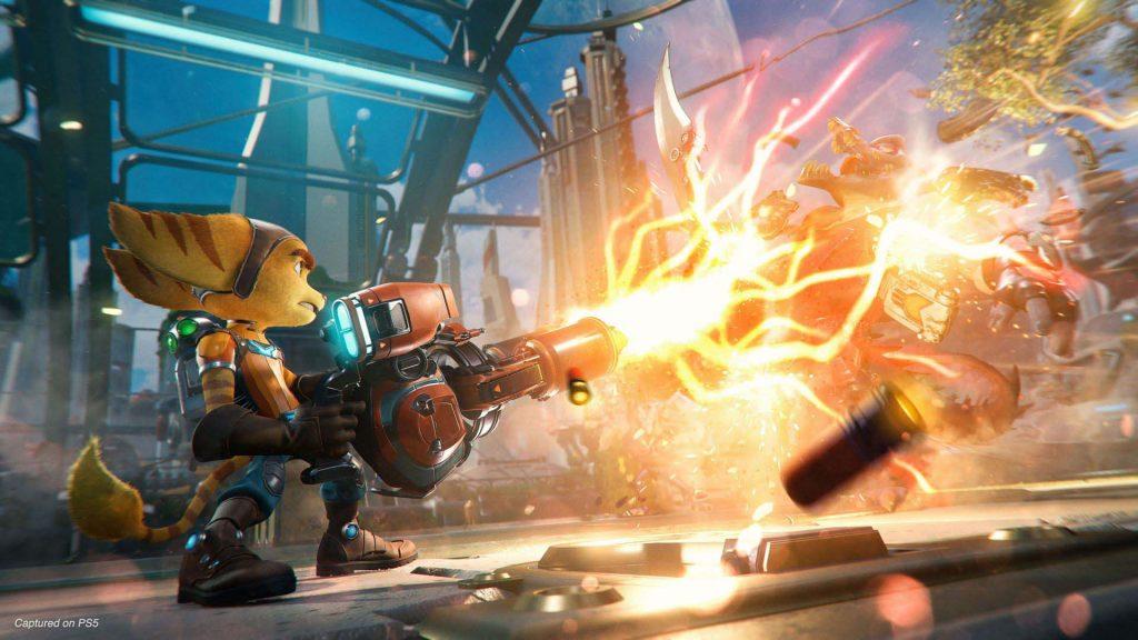 Ratchet & Clank: Rift Apart arma