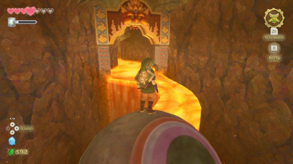 The Legend of Zelda: Skyward Sword HD - Gameplay
