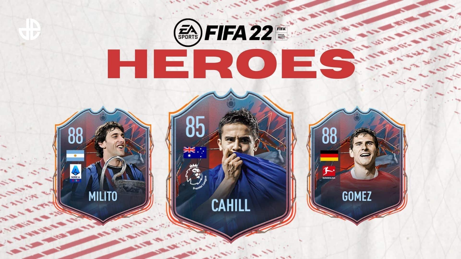 FIFA 22 Eroi FUT