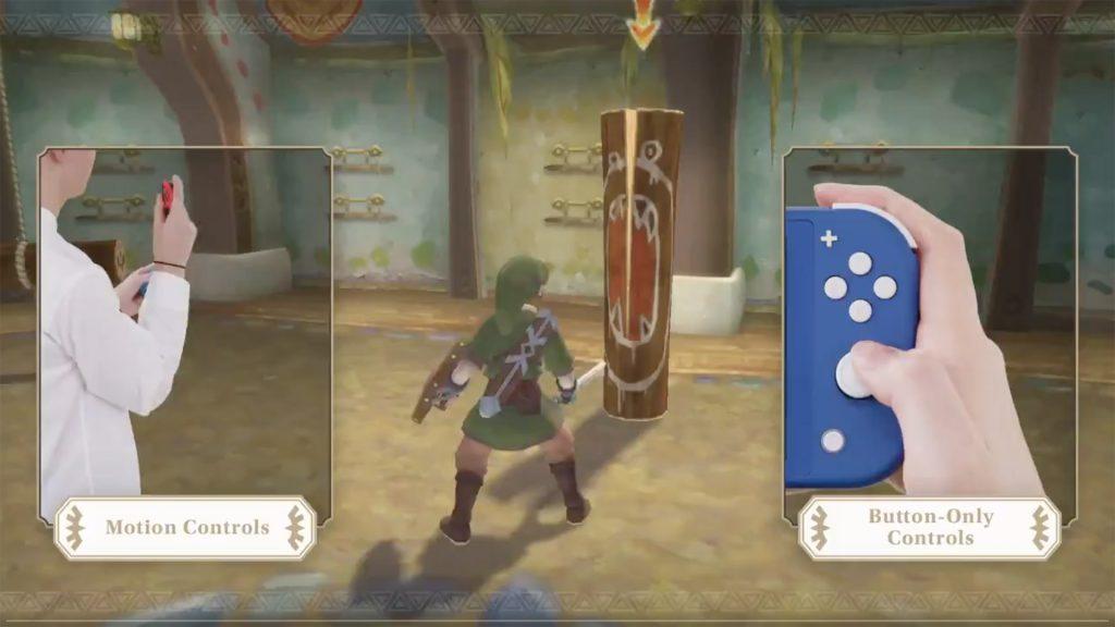 The Legend of Zelda: Skyward Sword HD - Controlli