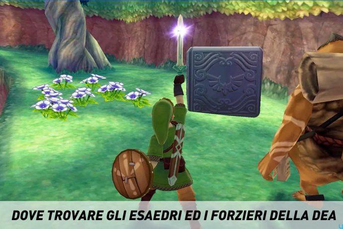 The Legend of Zelda: Skyward Sword - Esaedri della Dea