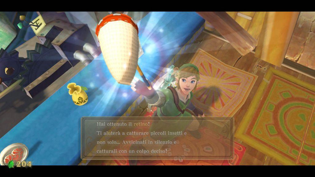The Legend of Zelda: Skyward Sword - Retino