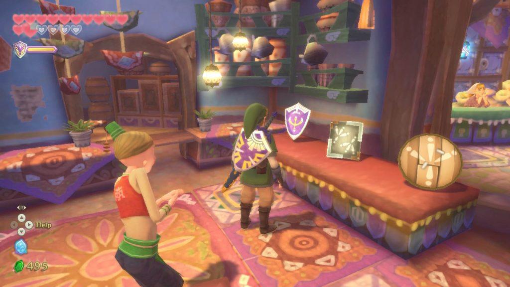 The Legend of Zelda: Skyward Sword - Scudi